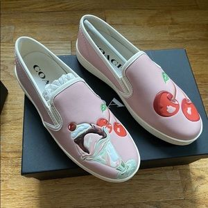 Coach C117 WITH SUNDAE PRINT sneaker size 8
